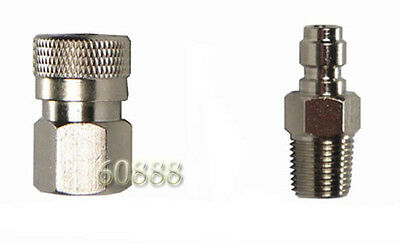"""New Paintball Female Quick Disconnect 1/8"""" NPT - Made of Nickel"""