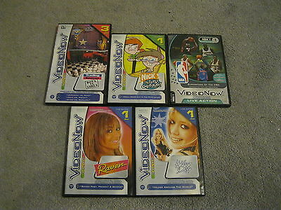 5 Video Now Pvd Lot - Raven,the Fairley Oddparents,hilary Duff,nba Stars + 1