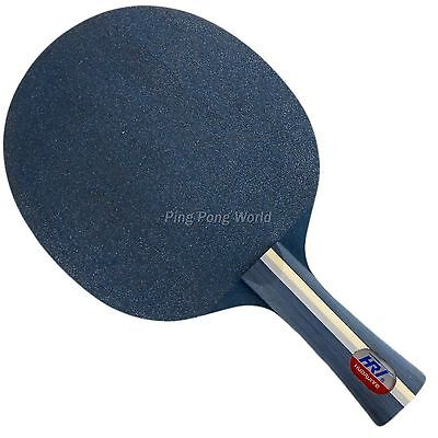HRT Blue Crystal Carbon Table Tennis / Ping Pong Blade, NEW!!!