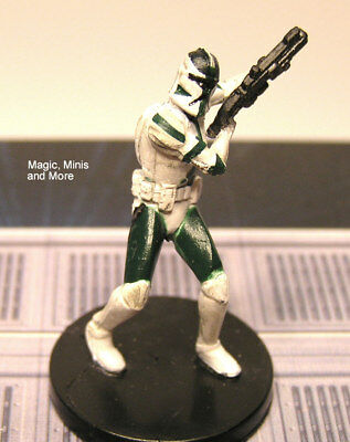 The Clone Wars ~ COMMANDER GREE #9 rare Star Wars miniature