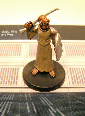 The Clone Wars ~ MON CALAMARI KNIGHT #15 Star Wars miniature  WotC