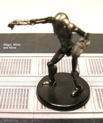 The Clone Wars ~ SUPER BATTLE DROID #32 Star Wars miniature  WotC