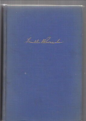 LOOKING FORWARD by FRANKLIN D. ROOSEVELT 1933 hardcover New Deal Banking .. RARE