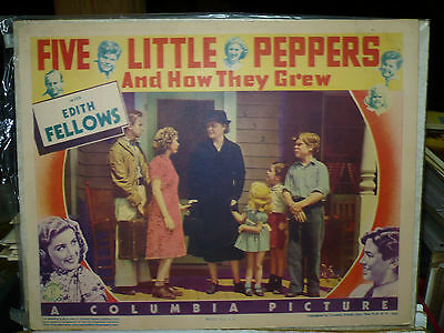FIVE LITTLE PEPPERS AND HOW THEY GREW, orig 1939 LC (Edith Fellows)