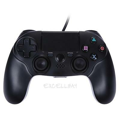 Wired USB Game Controller Dual Vibration 6 Axies Gamepads for Playstation PS4