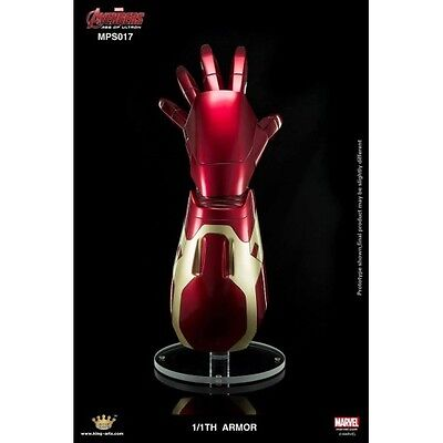 King Arts Movie Props Series Iron Man Arm 1/1 Scale Mps017