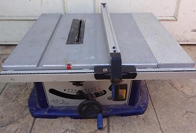 Metabo TS250 Portable Table Bench Saw Adjustable Bevel Cut Depth to 77mm