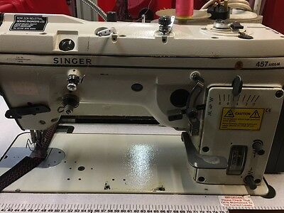 Singer 457A105 Zig Zag Industrial Sewing Machine