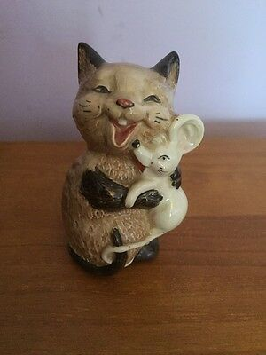 Beswick Laughing Cat And Mouse