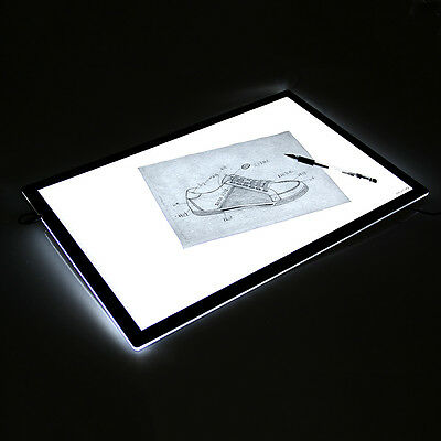 "Huion A2 26.8"" LED Light Box Light Pad Board Tatoo Art Graphic Trackpad Painting"