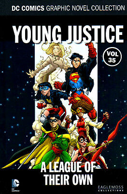 DC GRAPHIC NOVEL COLLECTION #35 - YOUNG JUSTICE A League of their Own - NEW