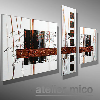 abstrakte acryl xxl bilder wandelement moderne gem lde. Black Bedroom Furniture Sets. Home Design Ideas