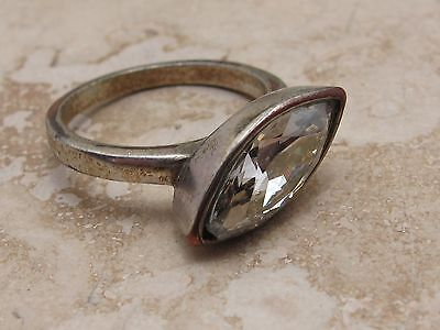 Vintage Stone Set Ring See Photo For Size
