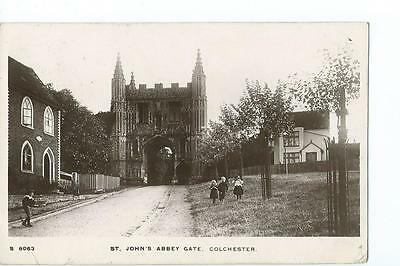 Essex.RP by Kingsway of St John's Abbey Gateway Colchester PU 1912