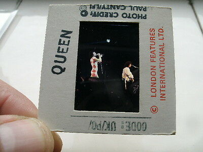 QUEEN 50mm  SLIDE Negative -PROMO-  Org.UK Archive -Transparency - 70s! RARE!!!!