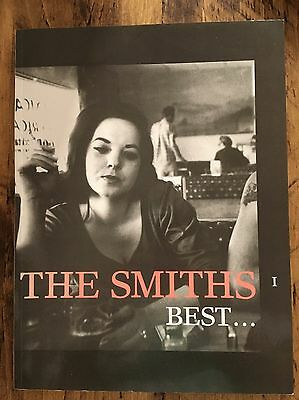 The Smiths Best I Song Book Rare