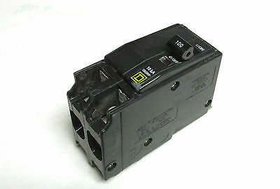 Square D QOB2100 100 AMP 2 Pole Circuit Breaker .. Newest-style ....L-61