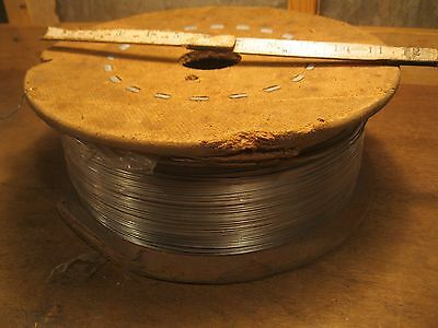 stainless steel wire vintage roll welding jewelry spring coil fastener 40 lb.
