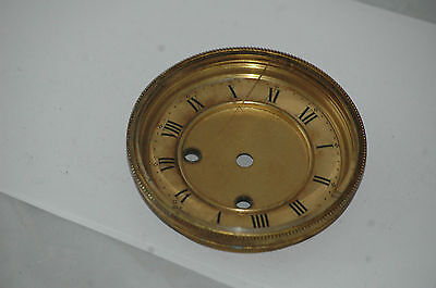 Antique Hinged Glass Clock Face,10.5 Cms Diam.fit.