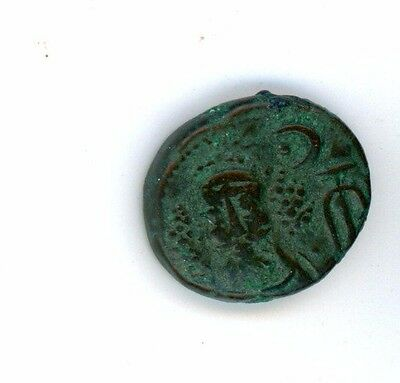 E11-08 Elymais, Kamnaskires-Orodes, AE Drachm, early to mid 2nd century AD. !!!