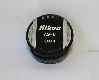 Nikon Flash Shoe Adapter AS-6 for the Nikon FE2 FM  F5 F6 ETC