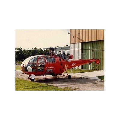 Alerte 0051 - Sud Aviation Alouette 3 Helicoptere Bspp  1/43
