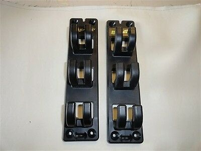 "Blue Wave 3 Rod Holders 10"" X 2 1/2"" Set Of 2 Marine Boat"
