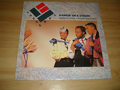 """Loose Ends-Hangin' On A String [Contemplating]Ext' Dance Mix (Virgin12"""")"""