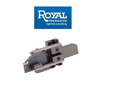 Royal CNC Bar Puller Combo Model Blade + Cut Off Insert 43456