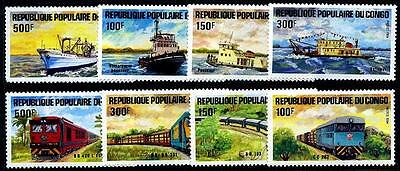 CONGO Sc.# 703-10 Ships NH Stamps