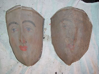 antique 1890's to 1910 Wire Halloween/Mardi Gras Mask