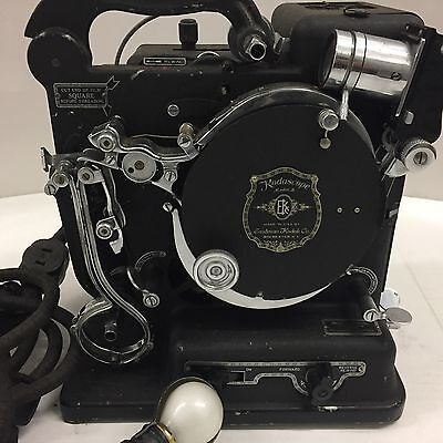 "Antique Kodak Kodascope ""Model B"" 16mm Film Projector with case"