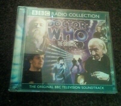 Doctor Who - The Savages Double Cd Audio Book