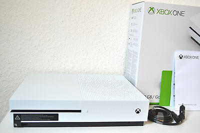 XBOX ONE S KONSOLE 500 GB in VERPACKUNG (ohne Controller) - NEUWARE / OVP - 4K