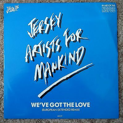 "Jam '86 - Jersey Artists For Mankind - We've Got The Love-Nm/mint 12"" Single"