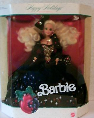 Happy Holidays Barbie Doll 1991 Special Edition
