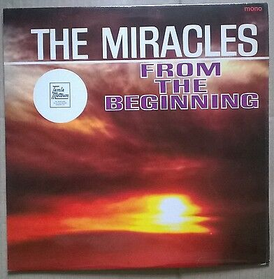 THE MIRACLES From The Beginning.  TAMLA MOTOWN  1964 vinyl  L.P.  MONO  A1/B1