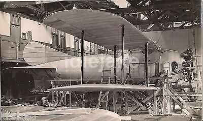 Short Brothers Rochester 1920s B-plane Under Construction Workshop  Photo