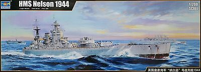 TRUMPETER® 03708 HMS Nelson 1944 in 1:200