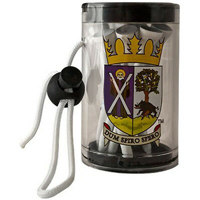 St. Andrews Official Golf Tee Shaker & Loop Cord With 10 x Tees rrp£10