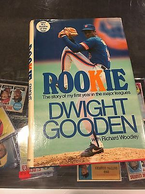 Dwight Doc Gooden New York Mets ''rookie '' Signed Book ''to Chris''