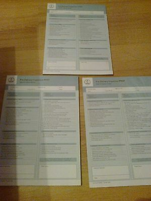 Saab Pre Delivery Inspection Forms,A4,New,Quantity 3, 9-5 Saloon And Est  £0.01