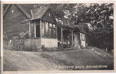 Nice Old Postcard - Y Bwthyn Bach - Broneirion - Pembrokeshire 1958
