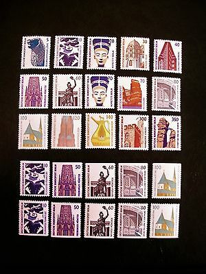 Germany Berlin Tourist Sights Set Including Both Perf 3 Sides Sets Cat £133.60