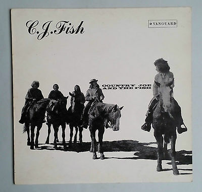 Country Joe And The Fish - C.J. Fish - Vinyl LP UK 1970