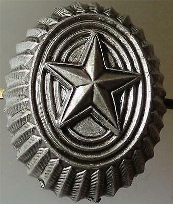 Russian Army Infantry Military Uniform Hat Star Badge metal field Cockade