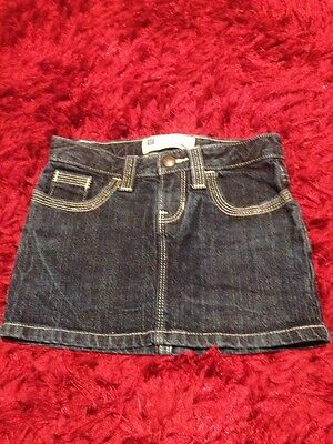 Girls Age 6 Denim Gap Skirt