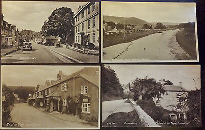 Collection of 12 UK postcards (3 stamped)