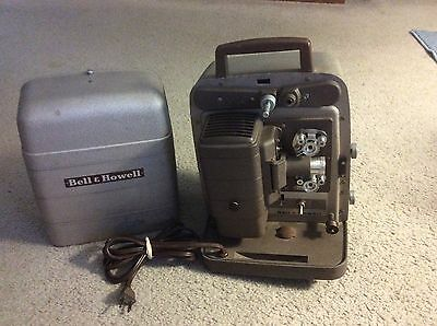 Vintage/Antique Bell & Howell Model 253-AX 8mm Film Movie Projector Working