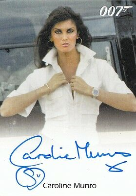 James Bond Archives 2016 Spectre Edition - Caroline Munro Autograph Card Fb L
